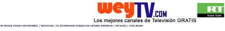 TV weyTv Rusia Today en Español