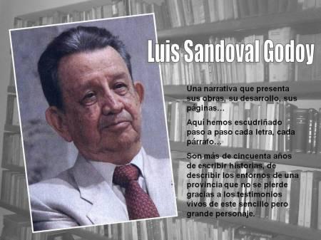 Luis Sandoval Godoy Bienvenida