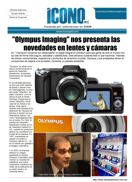 13 de Dic. Olympus