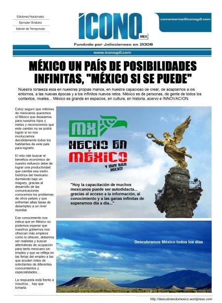 13 Portada El México de SI SE PUEDE