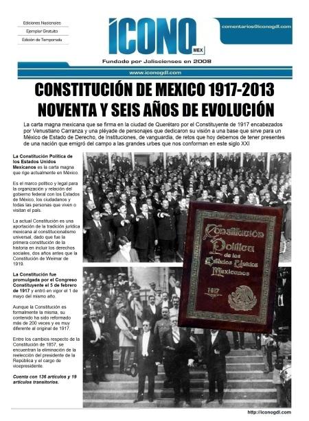 002 20 2013 Constituciones Mexicanas 1917