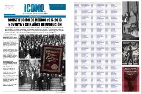 002 20 2013 Constituciones Mexicanas