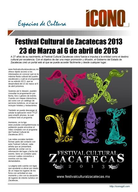 003 27 03 2013 Festival Cultural de Zacatecas