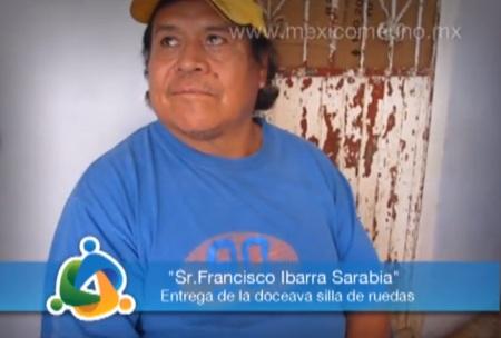 Programa desuministro y  entrega de Sillas de Ruedas
