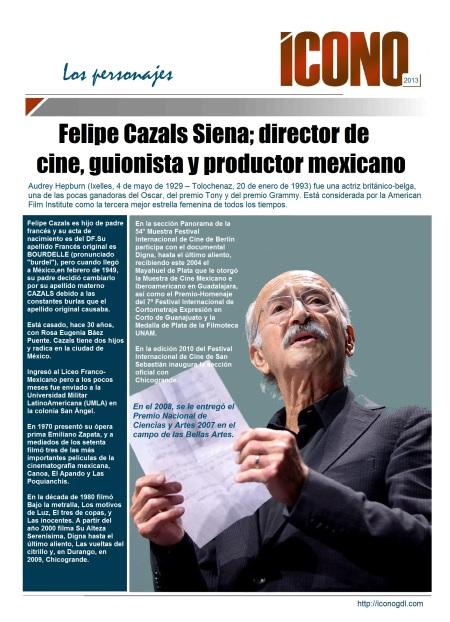 004 10 04 2013 Felipe Cazals