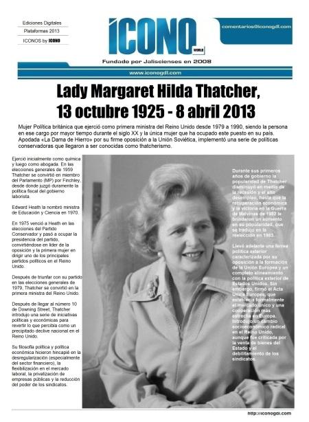 004 81 04 2013 Margaret Thatcher