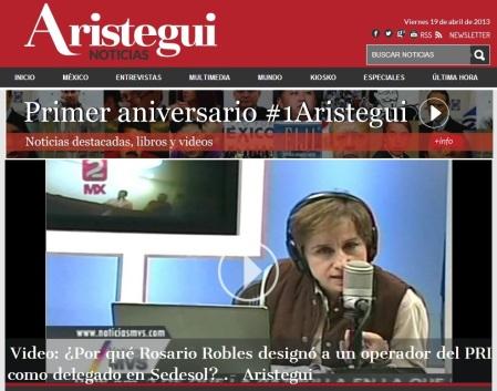 Web Aristegui Noticias