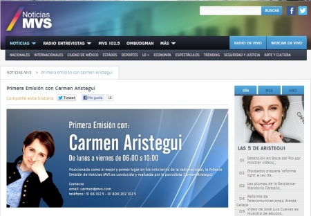 Web MVS Noticias