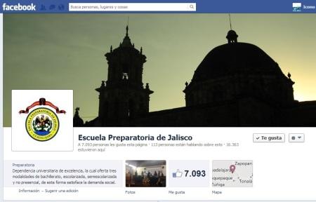 Facebook Prepa de Jalisco