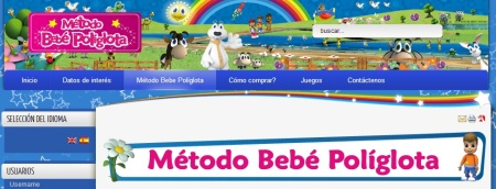 Bebe Políglota website