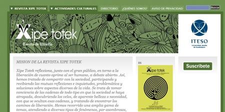 Website Xipe Totek