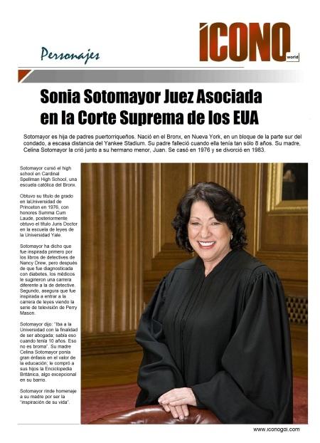01 02 2014 Sonia Sotomayor