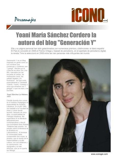 01 03 2014 Yoani Sánchez