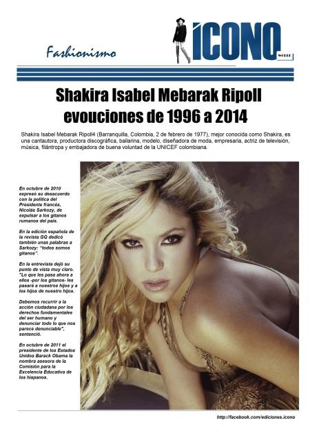 01 14 2014 Shakira