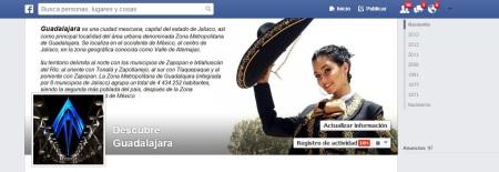 Banner Facebook Descubre Guadalajara
