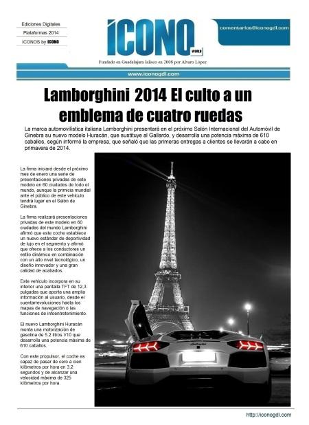 02 23 2014 Lamborgini