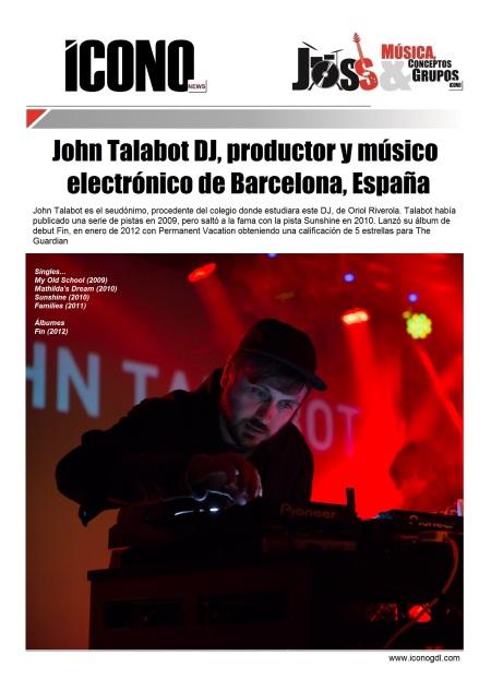 02 27 2014 John Talabot