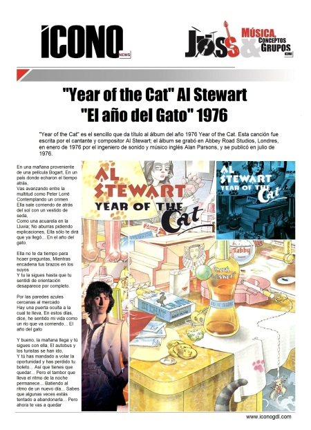 03 26 2014 Year of the Cat