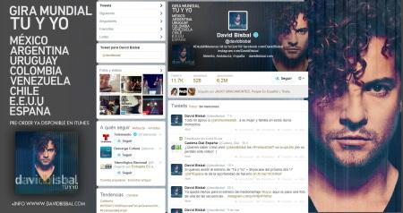 David Bisbal twitter