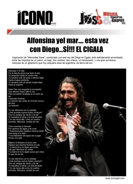 """Diego El Cigala """"Alfonsina y el mar"""""""