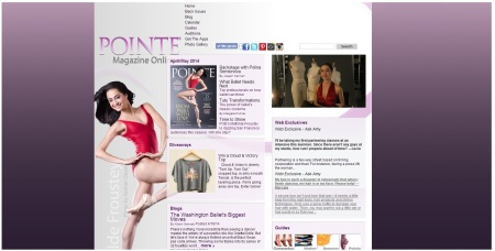 Pointe website