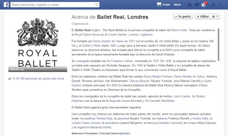 Royal Ballet face
