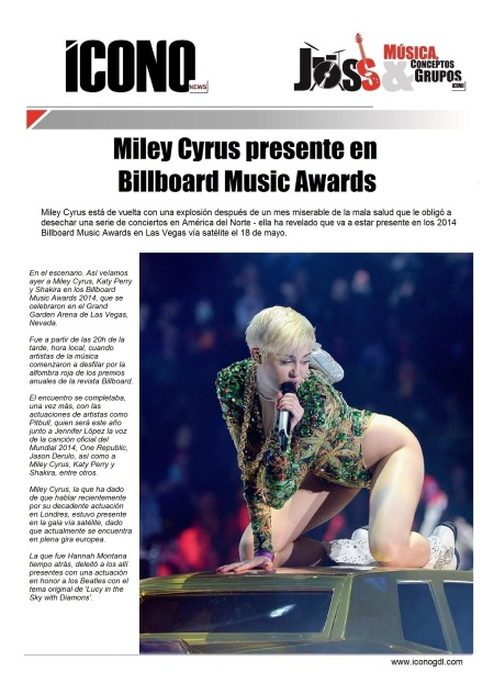 Miley Cyrus by ICONO