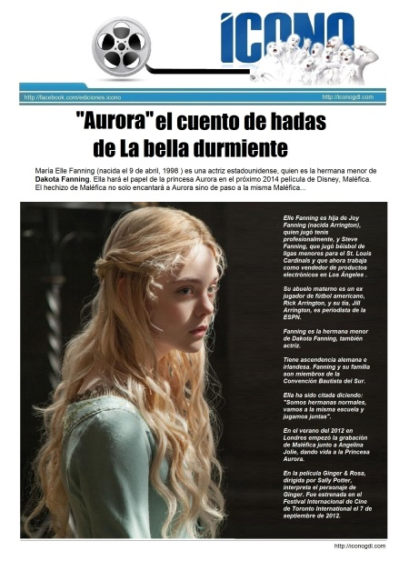 Aurora Mary Elle Fanning