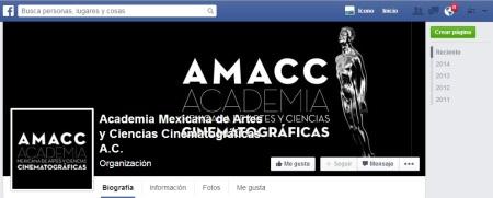 Academia Mexicana de Ciencias y Artes FACEBOOK