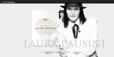 Laura Pausini website