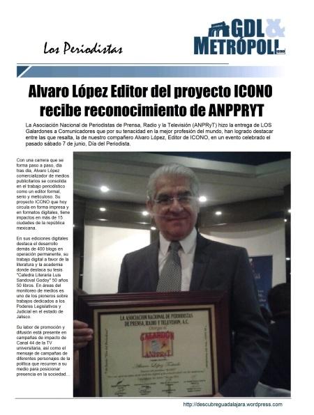 """Alvaro López """"Aportaciones de Conectividad"""""""