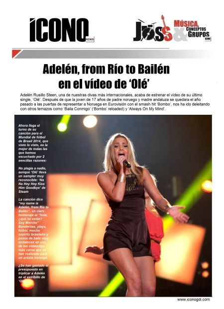 Bailém de Adelé Río 2014