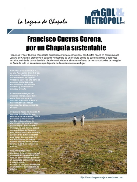 Francisco Cuevas y Chapala sustentable