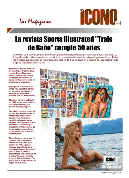 Sports Illustrated 50 años del MGZ