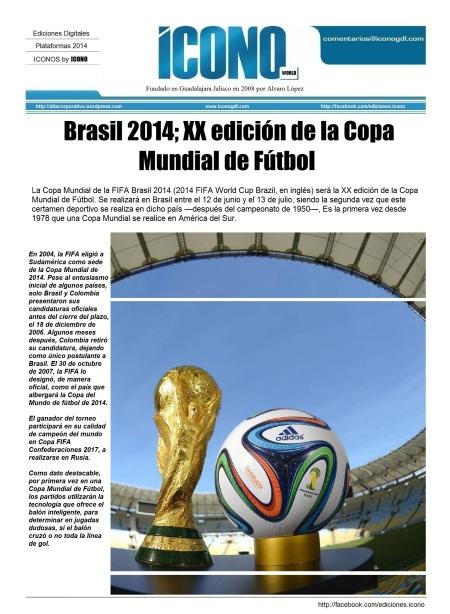 Brasil 2014 Copa del Mundo