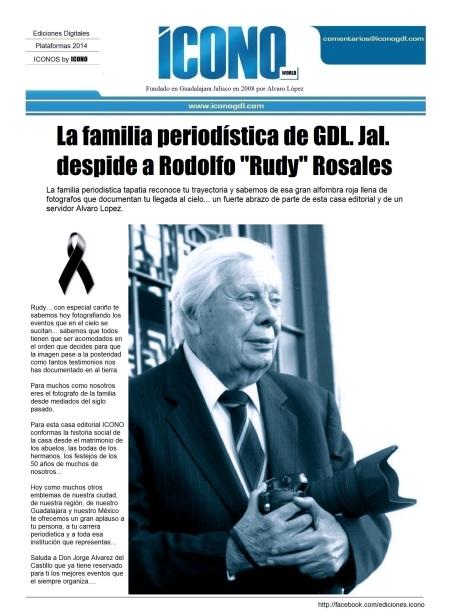 Rudy Rosales EL FOTOGRAFO de Gdl.