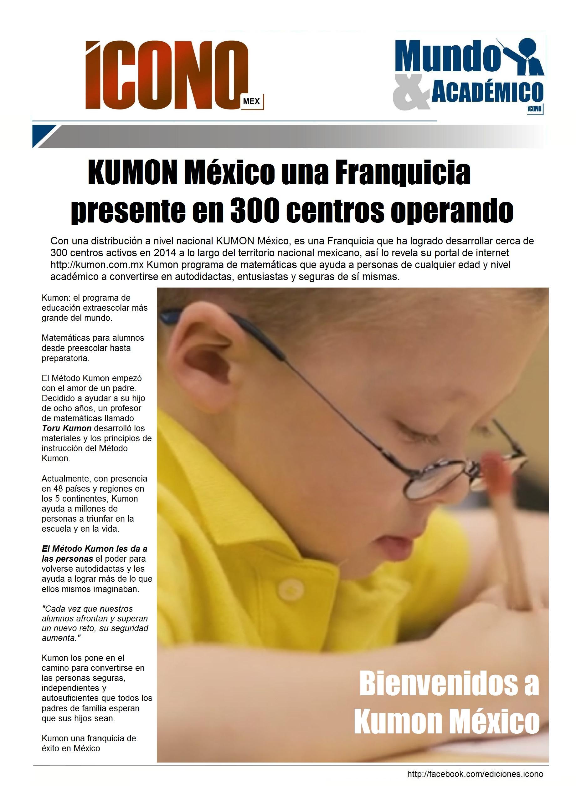 Mundo KUMON | Hemeroteca INDICE by ICONO