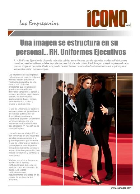 Uniformes Ejecuitivos R.H.