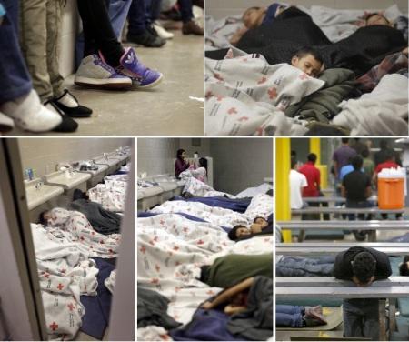 IMÁGENES de la Migración Infantil retenida