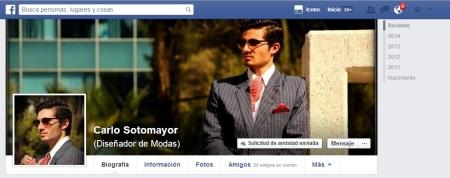 Bienvenidos al FACEBOOK de Carlos Sotomayor