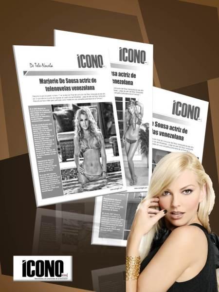 Marjorie en REDES SOCIALES de ICONO Fanpage