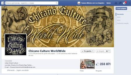 ARTE CHICANO Facebook