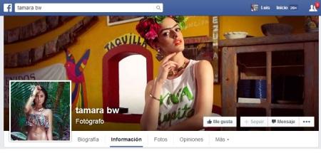 Tamara Bejar W. facebook