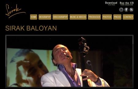 Bienvenidos al WEBSITE de Sirak Baloyan