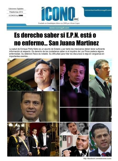 Imágenes de Enrique Peña Nieto y enlace a nuestra FANPAGE