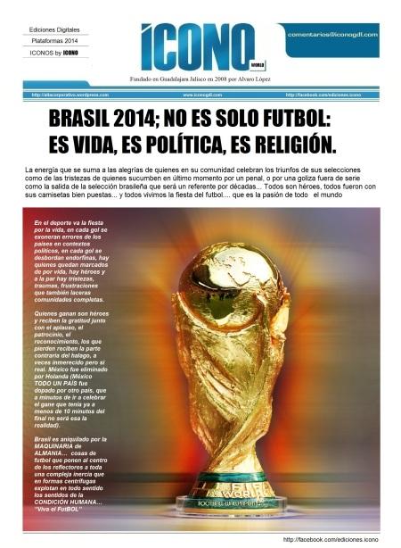ICONO en Brasil 2014