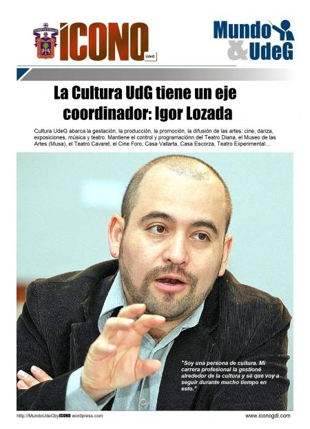 Igor Lozada de Mundo UdeG by ICONO