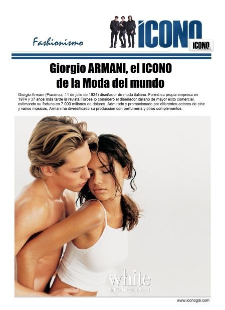 Giorgio Armani by ICONO