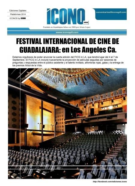 Festival Int. de Cine de GDL en L.A.