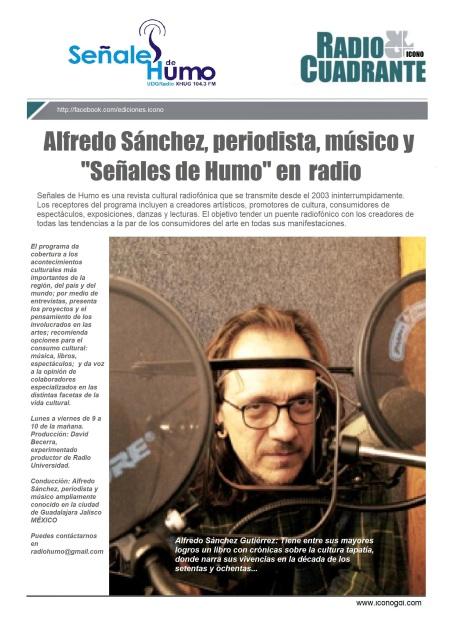 Alfonso Sánchez Señales de HUMO